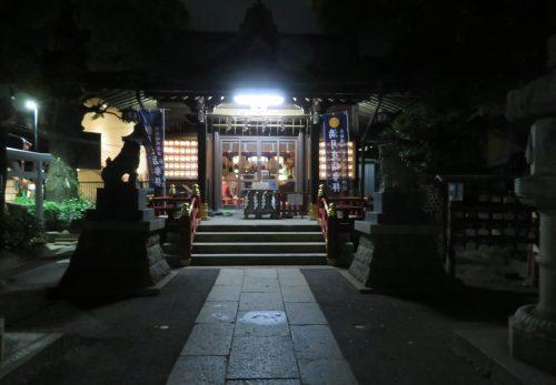 5月11日 満月夜詣り参拝