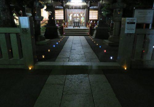 8月の夜詣り参拝は8日、22日です