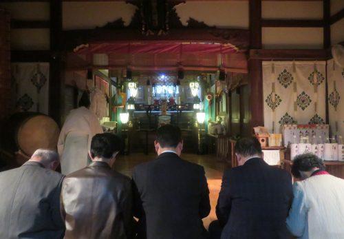 11月の夜詣り参拝は、4日・18日です