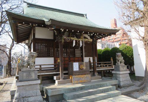立石 諏訪神社