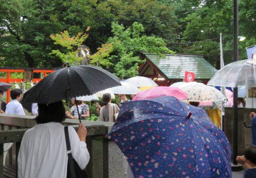 夏越大祓式 茅の輪くぐり神事
