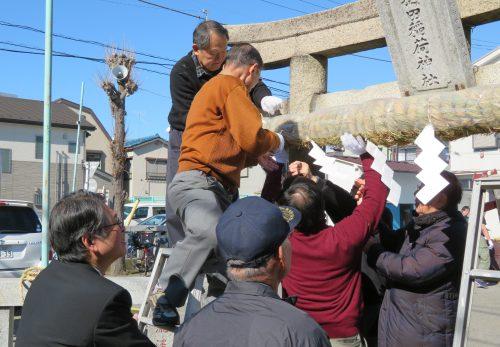 梅田稲荷神社 初午祭