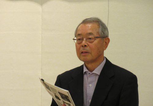 武田輝明先生 お月見講話