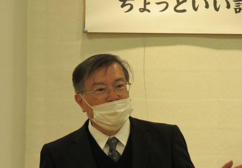 浅井正秀先生 お月見講話