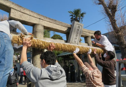 兼務社 梅田稲荷神社 初午祭