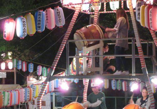当社オリジナル盆踊り曲『ここは葛飾 熊野音頭』